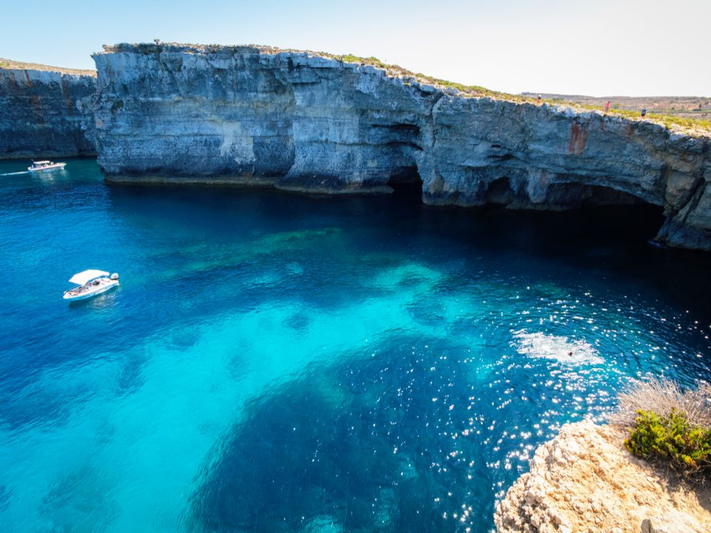 Comino Caves