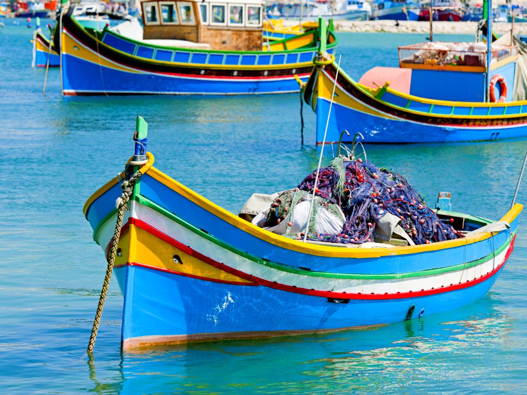 Luzzu-Fishing-Boats