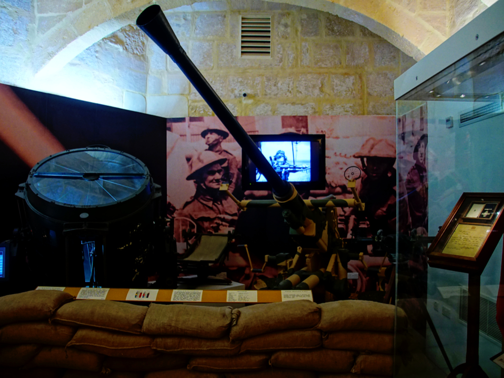 MALTA AT WAR MUSEUM & AIR RAID SHELTERS
