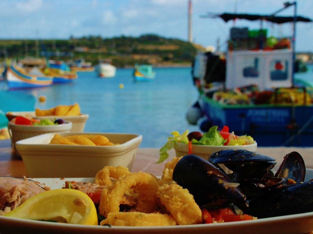 Marsaxlokk Eating