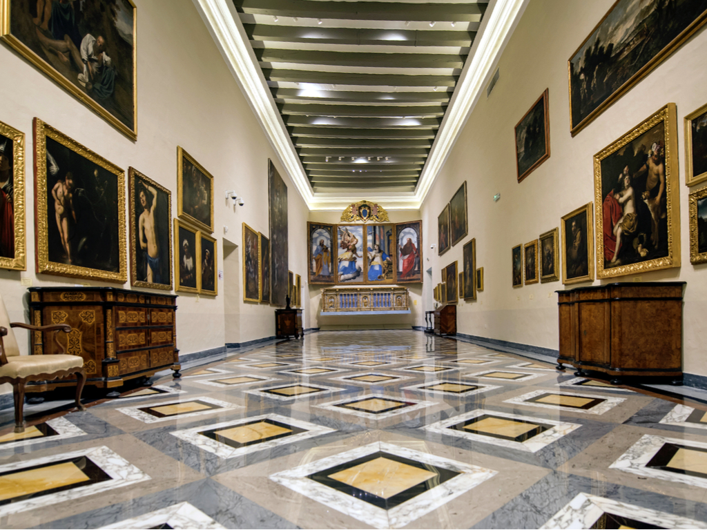Mdina Cathedral Museum Art collection
