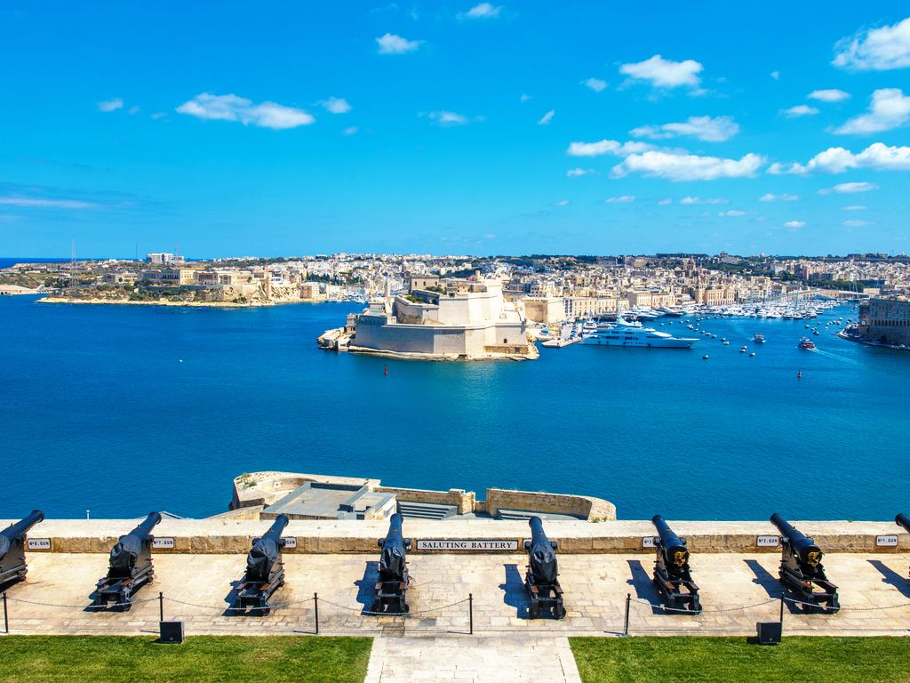 The Saluting Battery Valletta